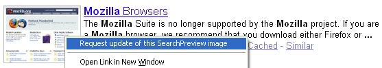 SearchPreview full screenshot